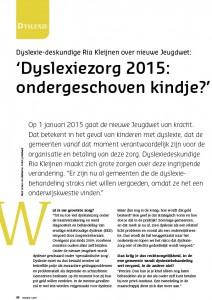 Artikel Ria Kleijnen_voorblad